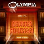 olympia 1977 - georges moustaki