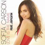 love is the name (single)  - sofia carson, j balvin