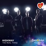 the real thing (eurovison 2016 - montenegro) (single) - highway