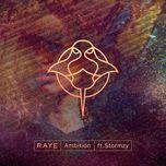 ambition (single) - raye, stormzy