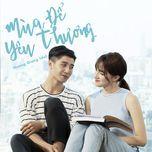 mua de yeu thuong (single) - huong giang idol