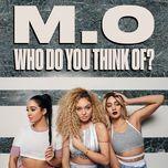 who do you think of? (single) - m.o