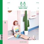 so-so (single) - baek ah yeon