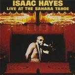 live at the sahara tahoe - isaac hayes