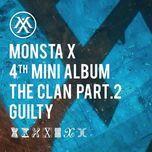 the clan pt.2 guilty (mini album) - monsta x