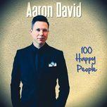 100 happy people (single) - aaron david