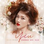 yeu khong hoi han (single) - hari won