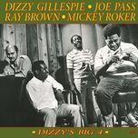dizzy's big 4 (original jazz classics remasters) - mickey roker, dizzy gillespie, joe pass, ray brown