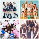 nhom tan binh nu k-pop noi bat 2016 - blackpink, twice, red velvet