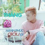 hanh phuc giau di (single) - viet thang idol