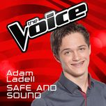 safe and sound (the voice australia 2016 performance) (single) - adam ladell