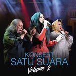 konsert satu suara vol. 2 (live) - dato siti nurhaliza