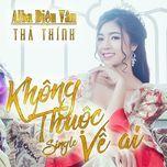 khong thuoc ve ai (single) - alba dieu van