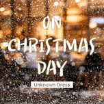 on christmas day (single) - unknown dress