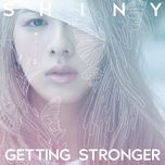 getting stronger (single) - shiny