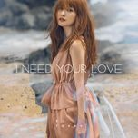 i need your love (single) - si thanh