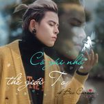 co gai nho the gioi to (single) - bui caroon