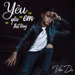 yeu em yeu that long (single) - van du