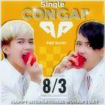 con gai remix (single) - p&p