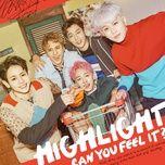 can you feel it (mini album) - highlight