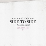 side to side (remixes single) - ariana grande