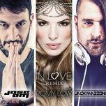 in love (jose am & jack mazzoni remix) (single) - romy low