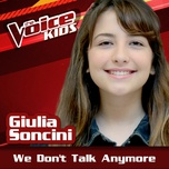 we don't talk anymore (the voice brasil kids 2017) (single) - giulia soncini