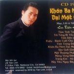 khon ba nam, dai mot gio (vol. 19) - lm. tien linh