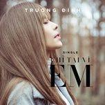 chi tai vi em (single) - truong dinh
