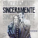 sinceramente (ao vivo) (single) - gusttavo lima