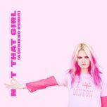 not that girl (ashnikko remix) (single) - girli