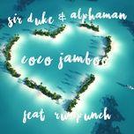 coco jamboo (single) - sir duke, alphaman