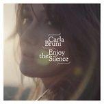 enjoy the silence (single) - carla bruni
