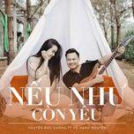 neu nhu con yeu (single) - nguyen duc cuong, vu hanh nguyen