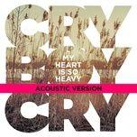 my heart is so heavy (acoustic single) - cry boy cry