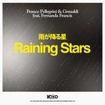 raining stars (single) - franco pellegrini, lucas gesualdi, fernanda francis