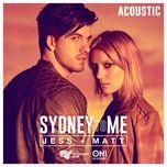 sydney to me (acoustic single) - jess & matt