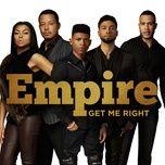 get me right (single) - empire cast, sierra mcclain, serayah, yazz