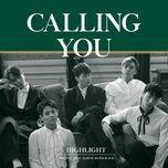 calling you (repackage mini album) - highlight