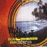 tinh nghe si (guitar hawaii) - doan dinh