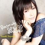 reason why xxx (single) - sasaki sayaka