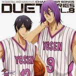 kuroko no basuke character song duet series (vol.1) - kensho ono, yuuki ono