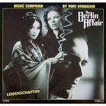 the berlin affair (ost) - pino donaggio