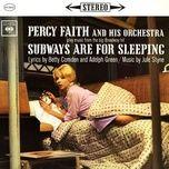 subways are for sleeping - percy faith