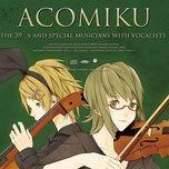 acomiku with vocalists - the 39's, v.a