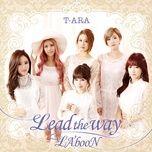 lead the way / la'boon (japanese single) - t-ara