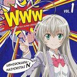 haiyore! nyaruko-san ed (single 2012) - v.a
