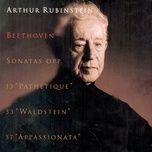 beethoven piano sonatas (vol. 33) - arthur rubinstein