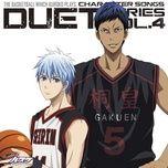 kuroko no basuke character song duet series (vol.4) - kensho ono, suwabe junichi