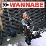 wannabe (single) - hyo yeon (snsd), san e